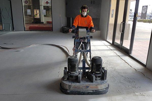 Concrete Floor Grinding Commercial Concrete Grinding